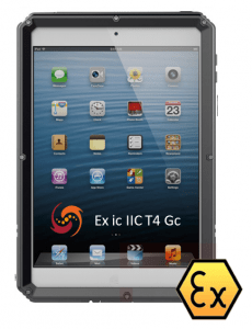 Explosion Proof ATEX Zone 2 Intrinsically Safe iPad Mini 4