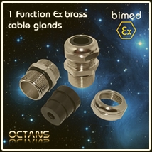 ATEX cable gland Ex-e Ex-d