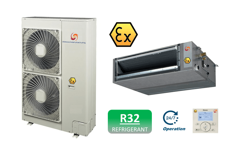 Ducted ATEX AC units R32
