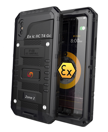 Explosion Proof ATEX Zone 2 Intrinsically Safe iPhone XR