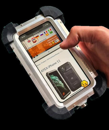 ATEX Zone 1 iphone IECEx v2