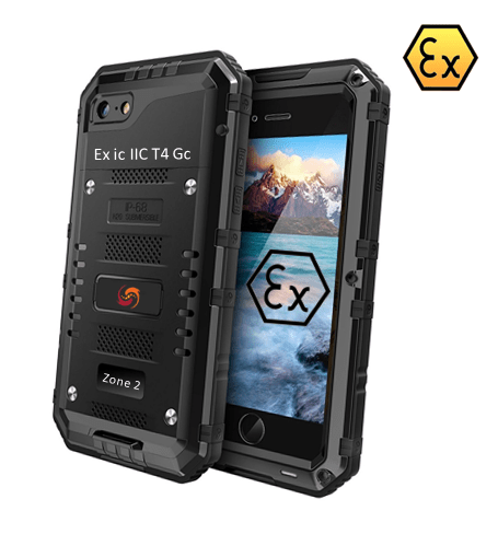 Explosion proof iphone 8 - Atexxo Manufacturing